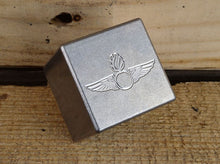 Milspin stainless steel custom engraved whiskey stones