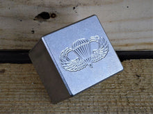 Milspin stainless steel engraved scotch stones