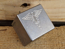 Milspin stainless steel custom engraved scotch stones