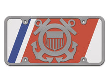 Milspin United States Coast Guard Logo Steel Cut License Plate