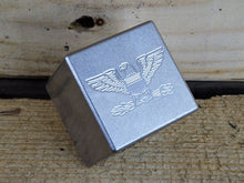 Milspin custom engraved (First Responder/Patriotic/Military) stainless steel scotch rocks