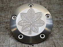 Custom insignia engraved Harley Davidson points covers