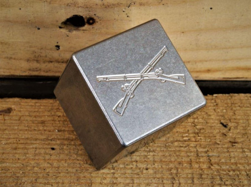 US Army Infantry Cross Rifles Whiskey Stone