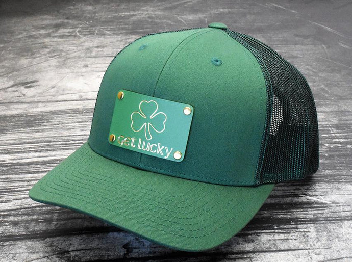 Milspin Get Lucky Machined Metal Plate Snap-Back Hat