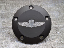 Harley Davidson custom engraved points covers with USMC insignia 10