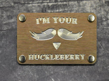 Milspin I'm Your Huckleberry Metal Morale Patch