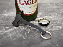 MILSPIN Custom designed fire fighter axe bottle openers