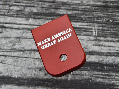 Make America Great Again Glock Magazine Base Plate