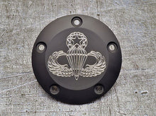 Milspin Custom engraved Harley Davidson points covers
