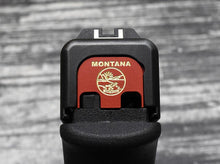 Montana Flag Glock Slide Back Plate