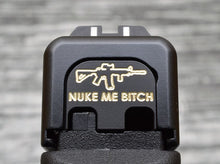 Milspin Nuke Me Bitch Slide Back Plate
