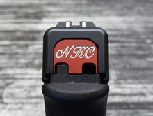 Custom designed Glock Slide Back Plate from MILSPIN