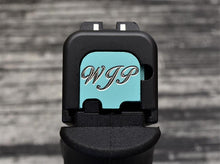 Custom Glock Slide Back Plate from MILSPIN