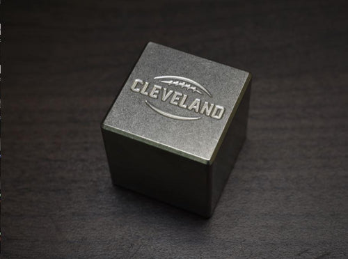Cleveland Football Whiskey Stone