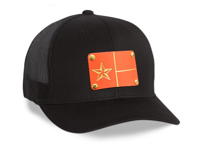Milspin Texas Flag Machined Metal Plate Hat