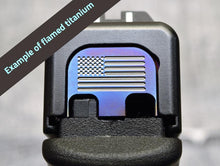 Milspin Custom Engraved Slide Back Plate for Glock Firearms