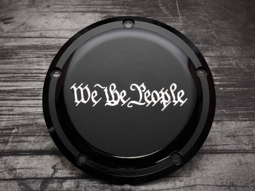 We The People Harley Davidson Derby Cover