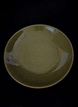 Chic Olive Gloss Plate