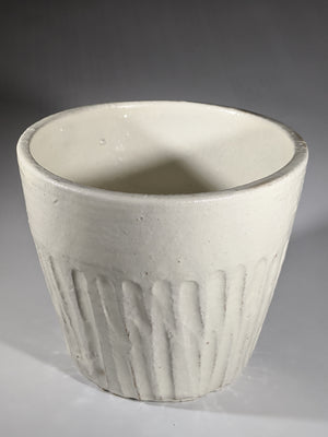Punk White Chawan (tea cup)
