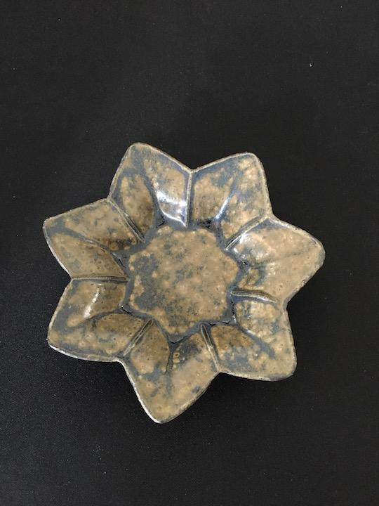 Japanese ceramic Autumnal Flower Dish at Zenbu Home