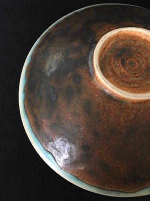 This exquisite, handmade Japanese ceramic or Dark Side of the Moon Dish is available at Zenbu Home