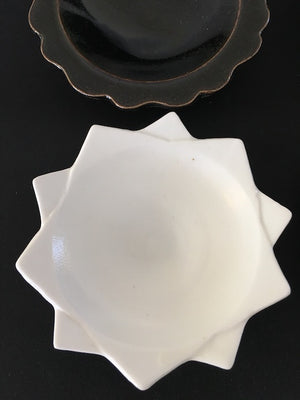 Imari-ware Katachi shape ceramic plates from Kyushu Japan at Zenbu Home