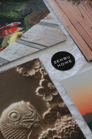 Beautiful gift cards featuring Japanese scenes and details from around Japan