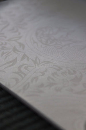 Beautiful Japanese Stationery white with patterns and texture