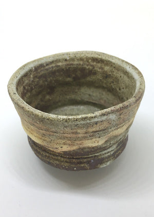Imagine sipping sake from this exquisite, handcrafted ceramic guinomi  (cup) from Zenbu Home