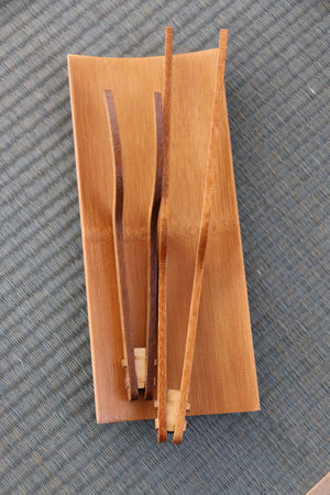 Buy these stylish, handmade bamboo tongs from Kyoto's Arashiyama Bamboo Forest at Zenbu Home