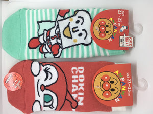 Kawaii! Cute Anpanman and friends socks at Zenbu Home