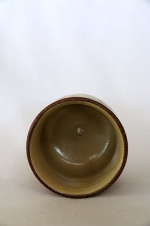 Zenbu Home 'Karashi' oversize Okinawan mustard painted Japanese Cup home wares Japanese design Buy