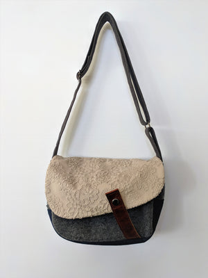 Stand out in the crowd this winter with this super stylish handmade Japanese shoulder bag from Zenbu Home