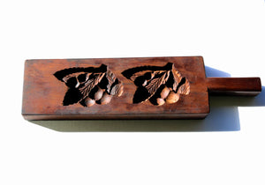 Zenbu Home 'Biwa' Loquat Kashigata (wagashi mould) wooden art sweets mould Japanese Traditional art design buy