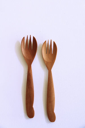 Wooden Fork Duo