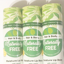 Load image into Gallery viewer, Lemon Moisture Lip Balm-Naturally Free Inc.