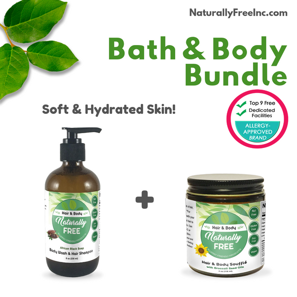 Bath & Body Bundle-Naturally Free Inc.