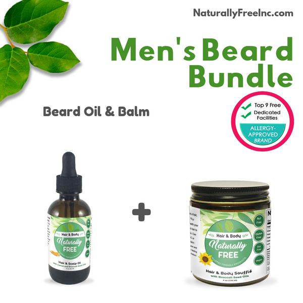Men's Beard Bundle-Naturally Free Inc.
