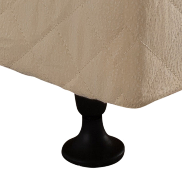 Mattress Base Double  Beige