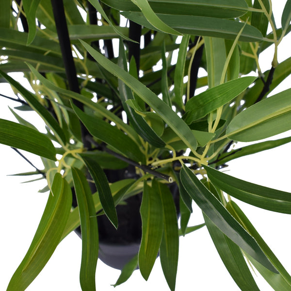 Artificial Bamboo Black Bamboo 160cm Real Touch Leaves