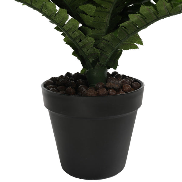 Artificial Potted Natural Green Boston Fern (50cm high 70cm wide)