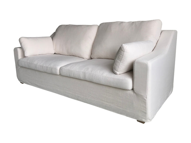 Hamptons 3 Seater Sofa White