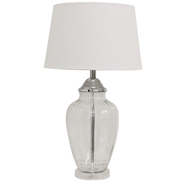 Embleton Table Lamp White