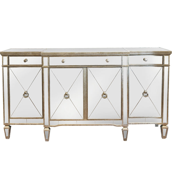 Bailey Mirrored Sideboard / Buffet - Free Shipping - Darkhorse Creations