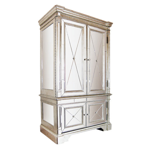 Bailey Mirrored Cabinet and Dresser