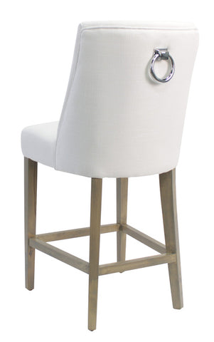 Patrice Bar Stool White