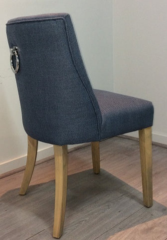 Patrice Dining Chair Denim