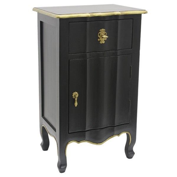 Mystique Cabinet Black and Gold