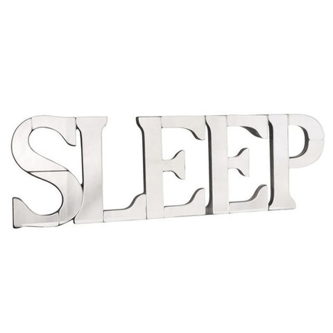 Sleep Mirrored Wall Art