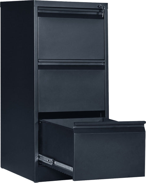 3Drawer Shelf Office Gym Filing Storage Locker Cabinet